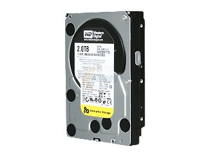 "Western Digital RE4 WD2003FYYS 2TB 7200 RPM 64MB Cache SATA 3.0Gb/s 3.5"" Internal Hard Drive -Bare Drive"