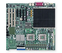 Supermicro X7DBE  Dual LGA771 Socket GbE LAN Port ATI Graphics SATA SIMSO  20Gbps Full Warranty