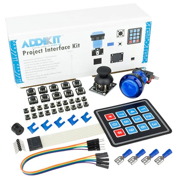 Interface addikit with illuminated arcade button and keypad and project interface addikit with illuminated arcade button and keypad and joystick sciox Image collections