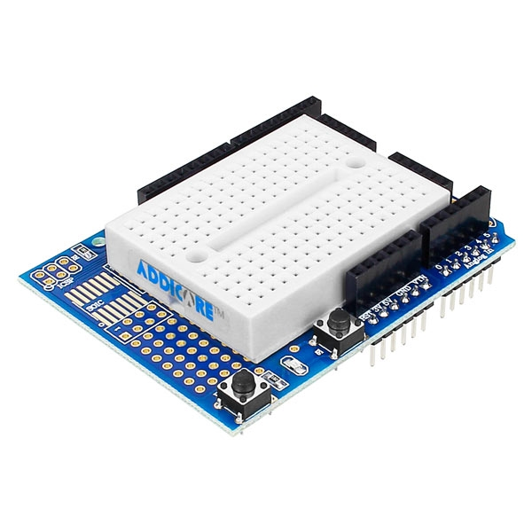 Proto Shield for Arduino with Mountable Breadboard