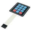 Addicore 4x3 12-key membrane switch keypad Arduino compatible
