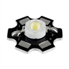 3W Cool White LED on Star Board Heatsink
