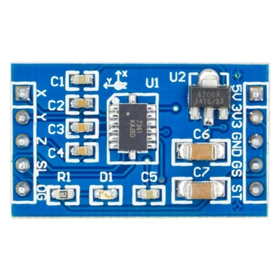 Addicore MMA7361 3-Axis Accelerometer module with on-board voltage regulator