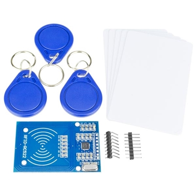 RFID AddiKit with RC522 MIFARE Module, RFID Cards, and RFID Fobs