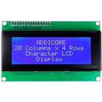 2004 (20x4) Character LCD with I2C backpack