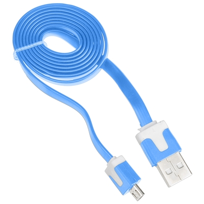 USB Cable - Micro USB B to USB A Flat Cable