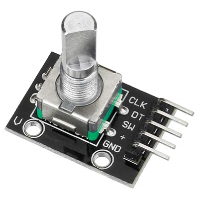 Rotary Encoder with Push Switch