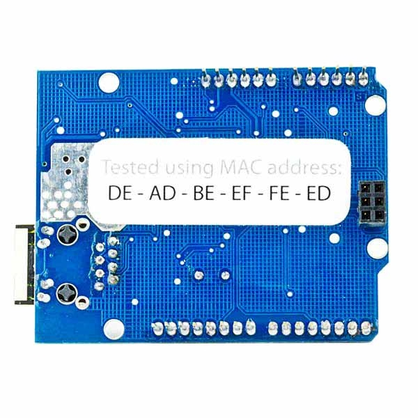 W5100 Ethernet Shield with Long Pins for Arduino