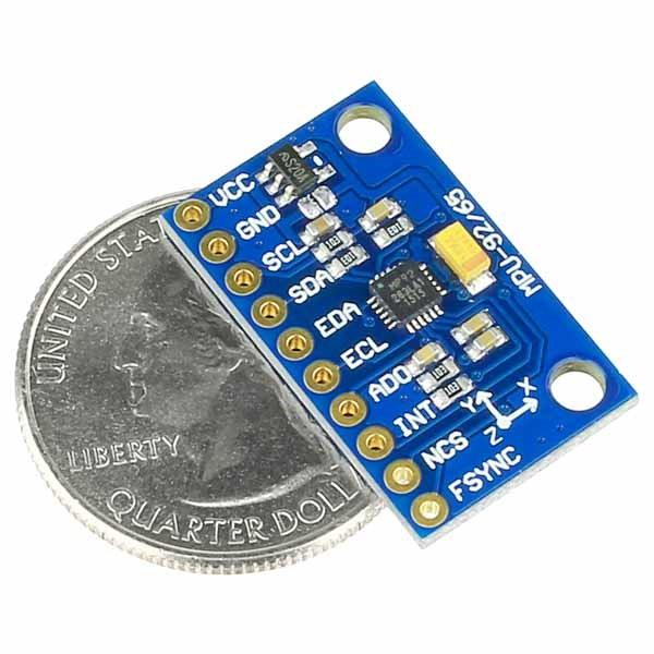 MPU-9250 9-DOF 3-Axis Accelerometer, Gyro, & Magnetometer