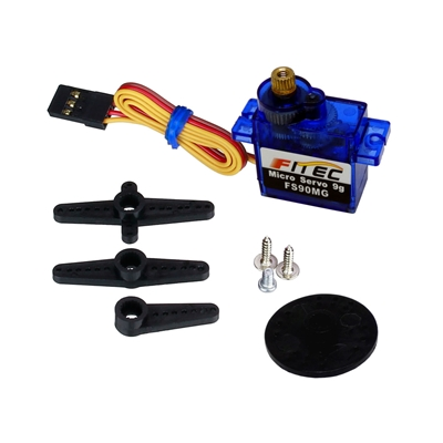 FEETECH (Fitec) FS90MG Metal Geared Servo with Accessories
