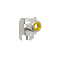 Yellow RCA Jack. Pin compatible with CUI RCJ-01X series jacks. CUI Yellow part number RCJ-014