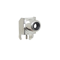 Black RCA Jack. Pin compatible with CUI RCJ-01X series jacks. CUI Black part number RCJ-011