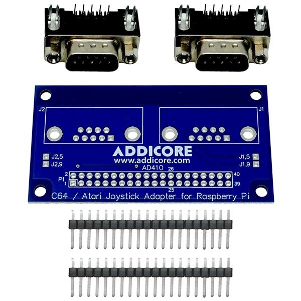 boffintronics c64 atari joystick adapter for raspberry pi rh addicore com Raspberry Pi GPIO Pins Layout Raspberry Pi Circuit Diagram