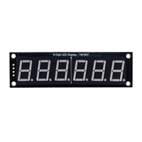 "RobotDyn TM1637 6 Digit LED Display with 0.56"" Digits"