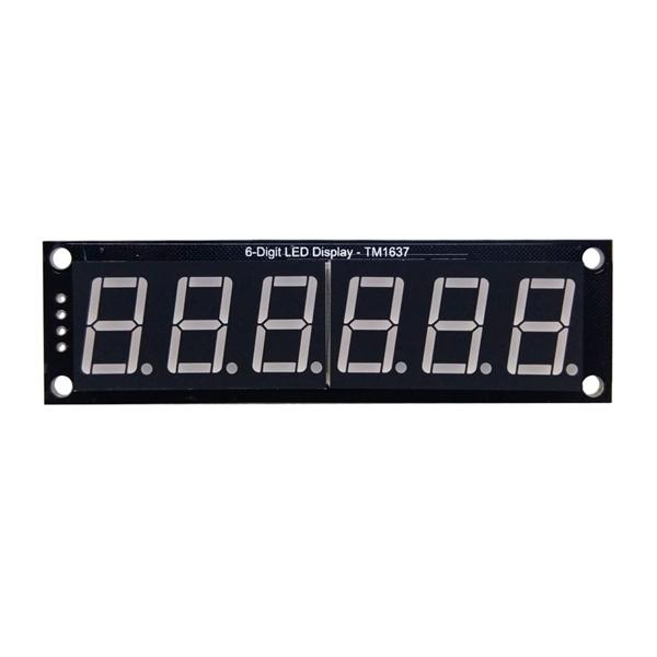 RobotDyn TM1637 6 Digit LED Display with 0 56