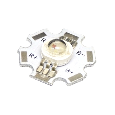 3W RGB LED on Star Board Heatsink