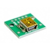 USB Mini Type B Receptacle (Female) Breakout Board
