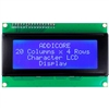 2004 (20x4) Character LCD with I2C backpack (Single I2C Address Version)