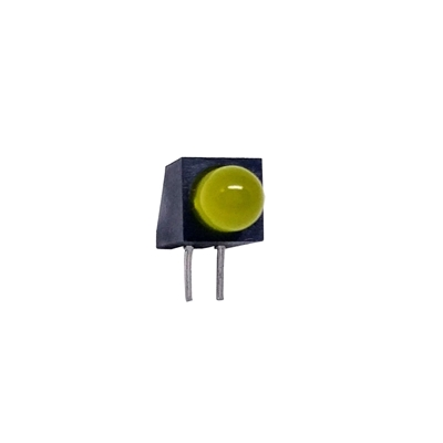 Yellow 5mm Right Angle LED