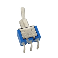 Toggle Switch (SPDT) - Right Angle