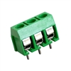3 Position Screw Terminal Block Low Profile