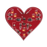 Velleman SMD Flashing Heart Kit MK144