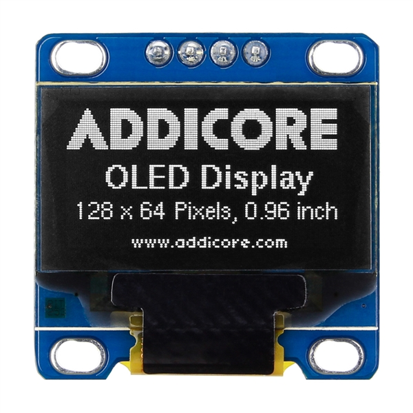 OLED Display - 128x64 0 96in Monochrome