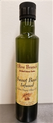 Olive Branch Sweet Basil Infused Extra-Virgin Olive Oil