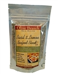 Basil Lemon Seafood Rub