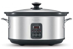 BREVILLE BSC420 6 LITRE PROGRAMMABLE SLOW COOKER WITH TEMPERATURE IQ