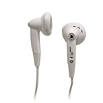 LIQUID EARS EARBUD HEADPHONES IN WHITE