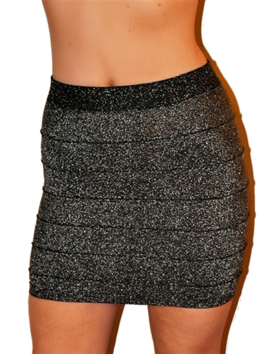 sexy silver, black lurex fitted tight mini skirts, pencil style mini skirt to party skirt, glam skirts that are clubbing skirts, short tight skirts to shine in, rocker chic micro mini skirts, glam sexy skirts to party down, going out skirt, holiday mini