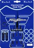 Keiti Blue with Flames Honda FireStorm Tank Pad with VTR Logo