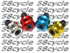 2003-2008 Suzuki SV1000 SV1000S Pair of Anodized Billet Aluminum Swingarm Slider Spools