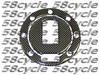 Yamaha (7-bolt pattern) Carbon Fiber Gas Cap Cover