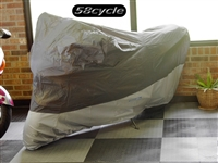 CoverMax Large Indoor / Outdoor Water-Resistant Sportbike Motorcycle Cover