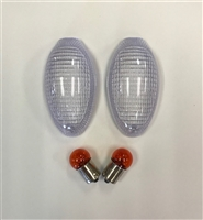2001-2007 Ducati Monster Clear Alternatives Clear Front Turn Signal Lenses