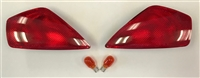 2002-2007 Ducati 999 Clear Alternatives Red Front Turn Signals (CTS-0028-R)