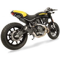 2015-2017 Ducati Scrambler Hotbodies MGP Slip On Exhaust - Carbon Fiber (31501-2404)