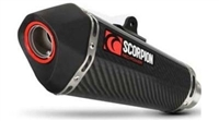 2015-2017 Ducati Scrambler Scorpion Serket Taper Slip-On Exhaust System - Carbon Fiber Can (RDI62CEO)