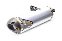 2007-2008 Honda CRF450R Two Brothers Racing Full Exhaust System Racing Standard Gold Series with M-7 Aluminum Canister (005-1570106V)