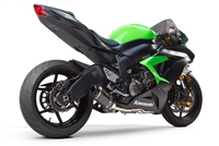 2009-2017 Kawasaki ZX6R Two Brothers Racing Full Exhaust System S1 Series with S1R Carbon Fiber Canister (005-3860105-S1)