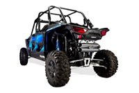 2015-2017 Polaris RZR XP1000 Two Brothers Racing Dual Slip-On Exhaust System Stainless Steel with S1R Stainless Steel Canisters (005-4120409D)