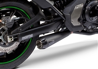 2015-2018 Kawasaki Vulcan S 650 Two Brothers Comp-S Full Exhaust System - Black (005-4200199-B)