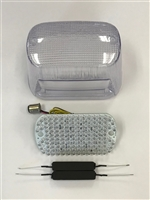 Clear Alternatives 1998-2004 Suzuki Volusia 800 Clear Tail Light Lens and LED Board with Integrated Signals
