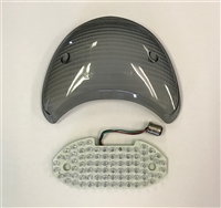 Clear Alternatives 1999-2007 Ducati Supersport Smoke Tail Light Lens - LED - SALE