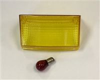 Clear Alternatives 1994-2007 Kawasaki EX250 Yellow Tail Light Lens - Middle Lens Only
