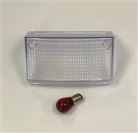 Clear Alternatives 1994-2007 Kawasaki EX250 Clear Tail Light Lens - Middle Lens Only