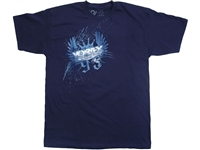 Vortex Racing T-Shirt -  King Corona - Navy Blue L/Large  (SS27L)