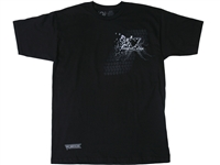 Vortex Racing T-Shirt -  VX - Black L/Large  (SS28L)